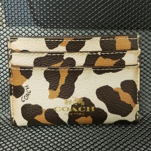 Pre-Owned Coach Credit Card Holder